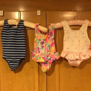 Other - 3  Toddler bathing suits